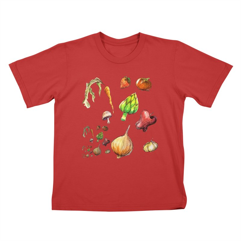Romanesco Kids T-Shirt by dasiavou's Artist Shop