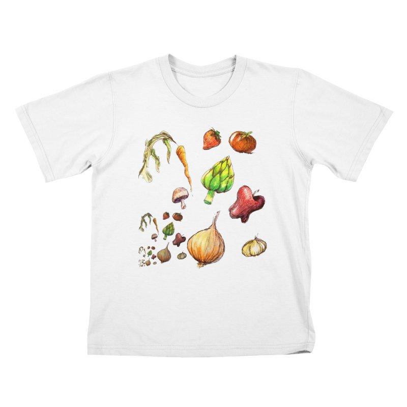 Romanesco Kids T-Shirt by dasiavou's Artist Shop