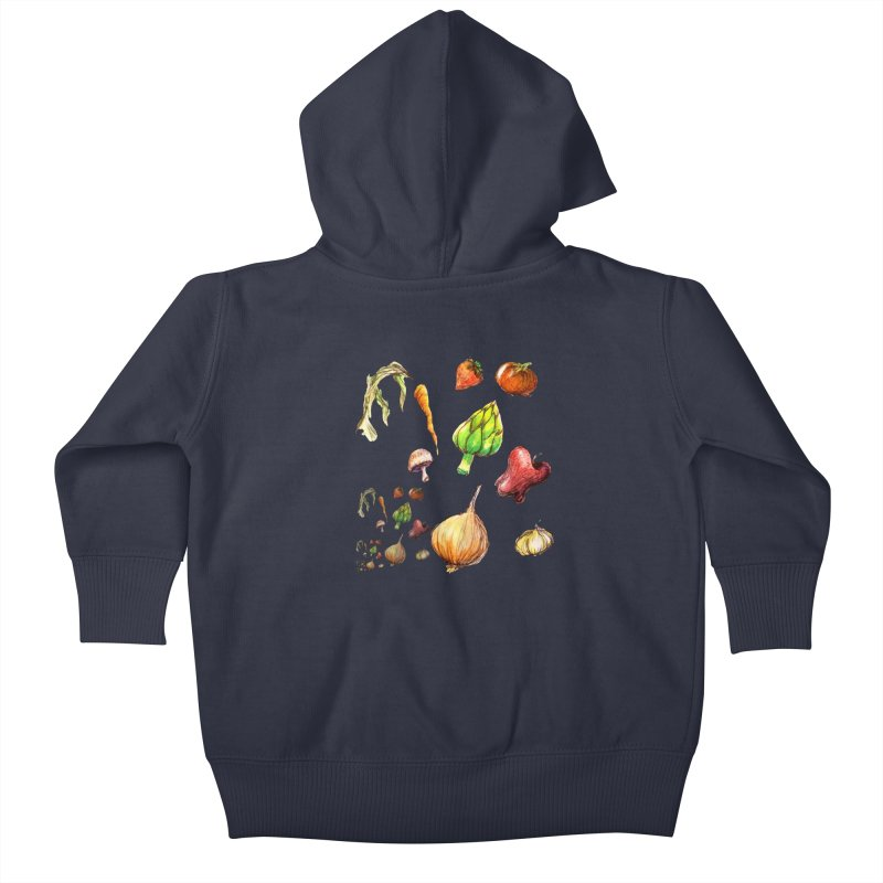 Romanesco Kids Baby Zip-Up Hoody by dasiavou's Artist Shop