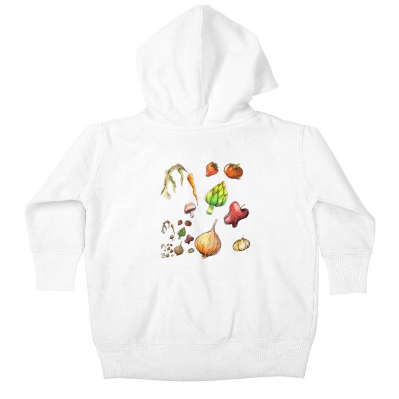 Romanesco Kids Baby Zip-Up Hoody by dasiavou's Artist Shop