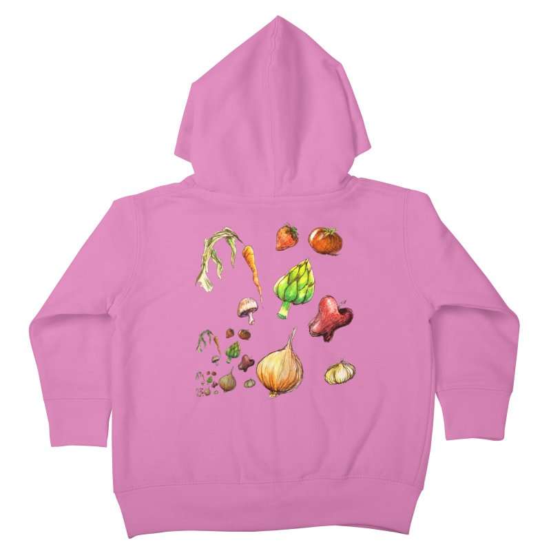 Romanesco Kids Toddler Zip-Up Hoody by dasiavou's Artist Shop