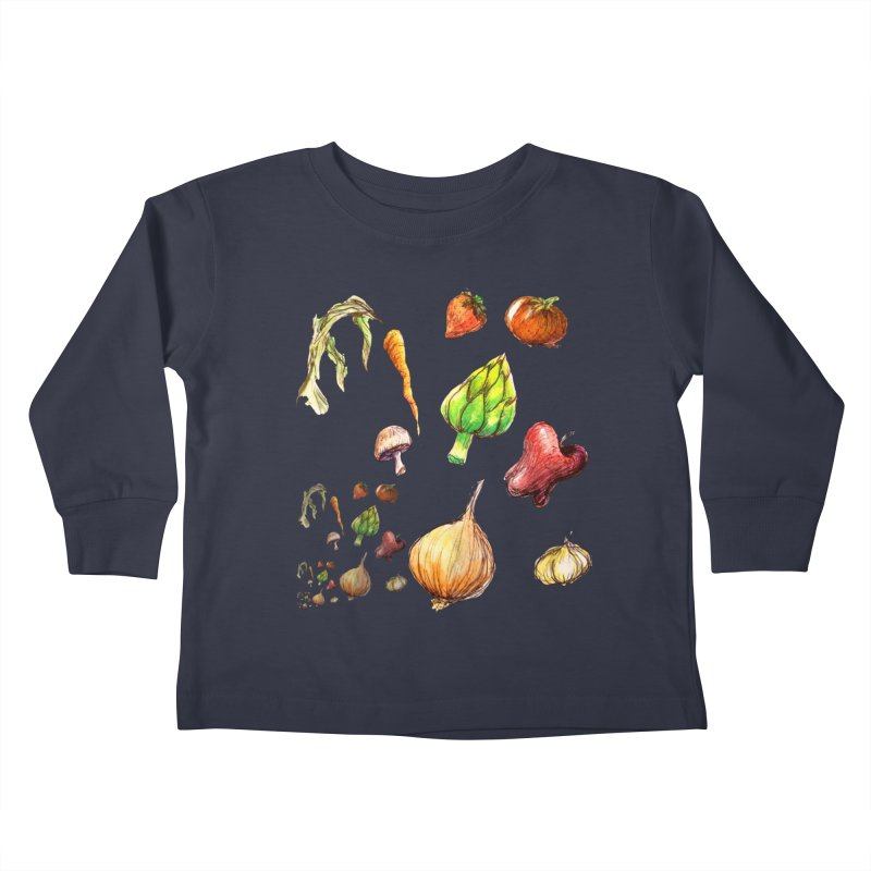 Romanesco Kids Toddler Longsleeve T-Shirt by dasiavou's Artist Shop