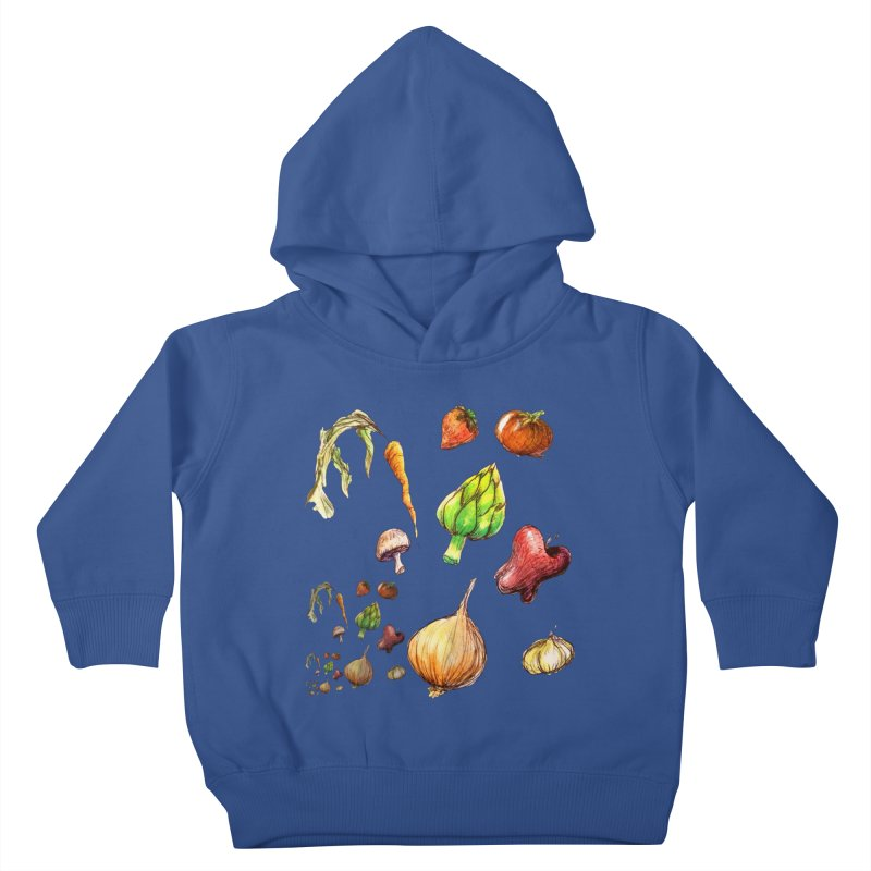 Romanesco Kids Toddler Pullover Hoody by dasiavou's Artist Shop
