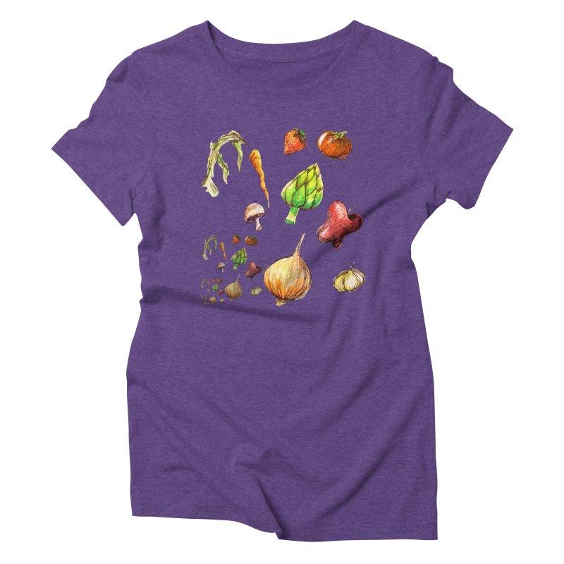 Romanesco Women's Triblend T-Shirt by dasiavou's Artist Shop