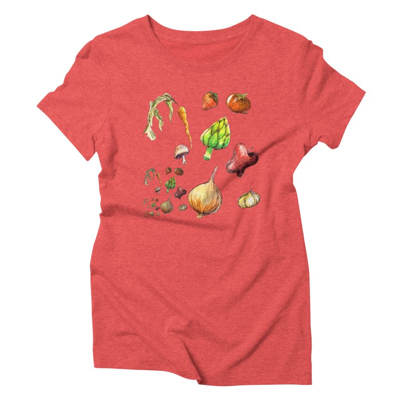 Romanesco Women's Triblend T-Shirt by dasiavou's Artist Shop
