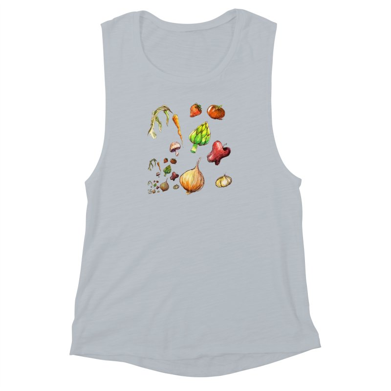 Romanesco Women's Muscle Tank by dasiavou's Artist Shop