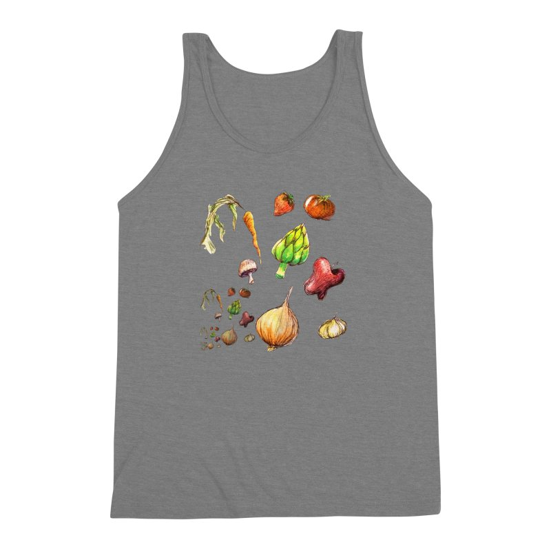 Romanesco Men's Triblend Tank by dasiavou's Artist Shop