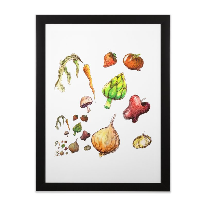 Romanesco Home Framed Fine Art Print by dasiavou's Artist Shop