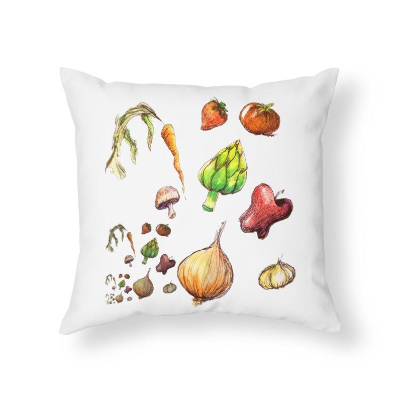 Romanesco Home Throw Pillow by dasiavou's Artist Shop