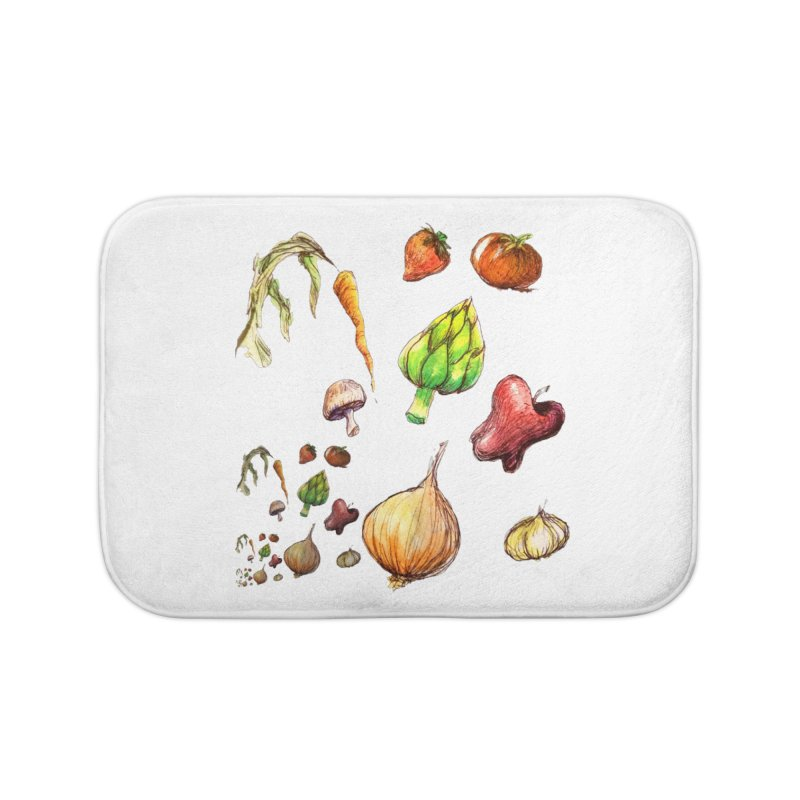 Romanesco Home Bath Mat by dasiavou's Artist Shop