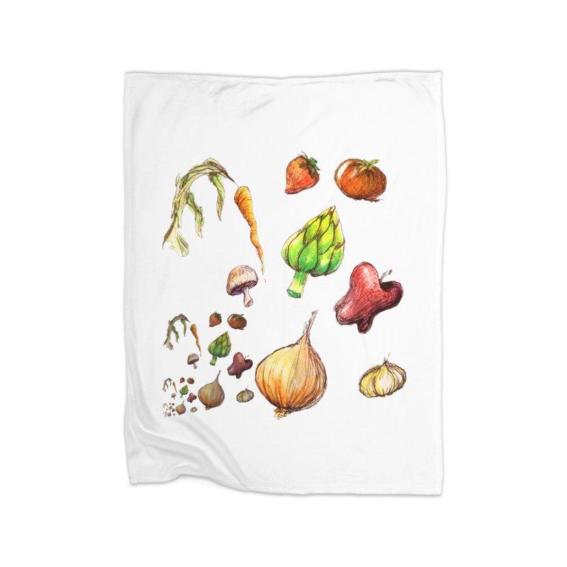 Romanesco Home Fleece Blanket Blanket by dasiavou's Artist Shop