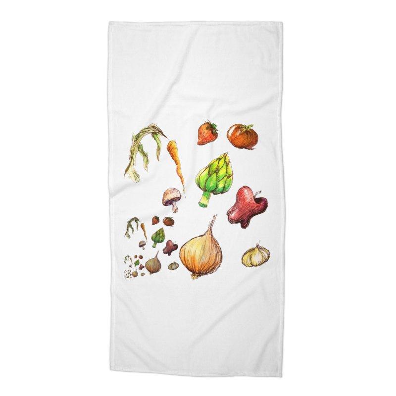 Romanesco Accessories Beach Towel by dasiavou's Artist Shop