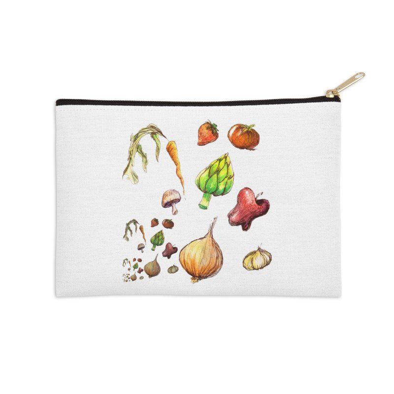 Romanesco Accessories Zip Pouch by dasiavou's Artist Shop