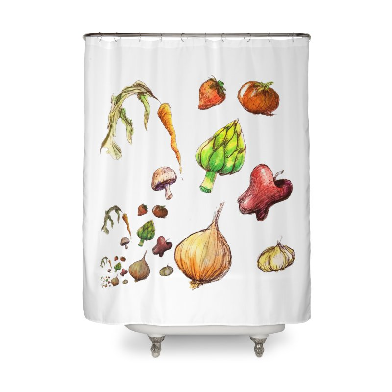 Romanesco Home Shower Curtain by dasiavou's Artist Shop