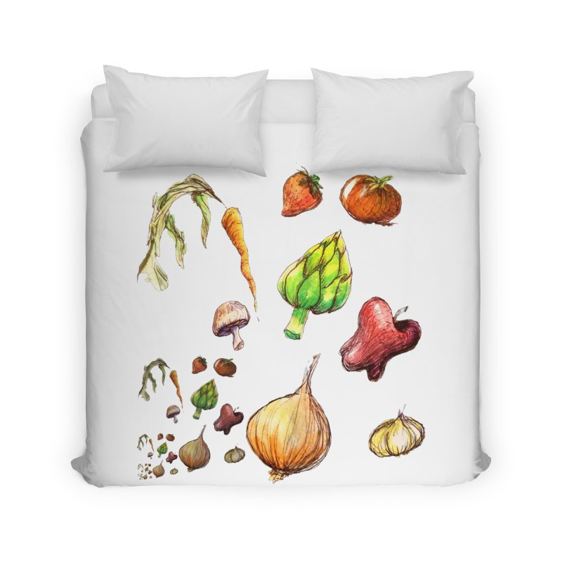 Romanesco Home Duvet by dasiavou's Artist Shop