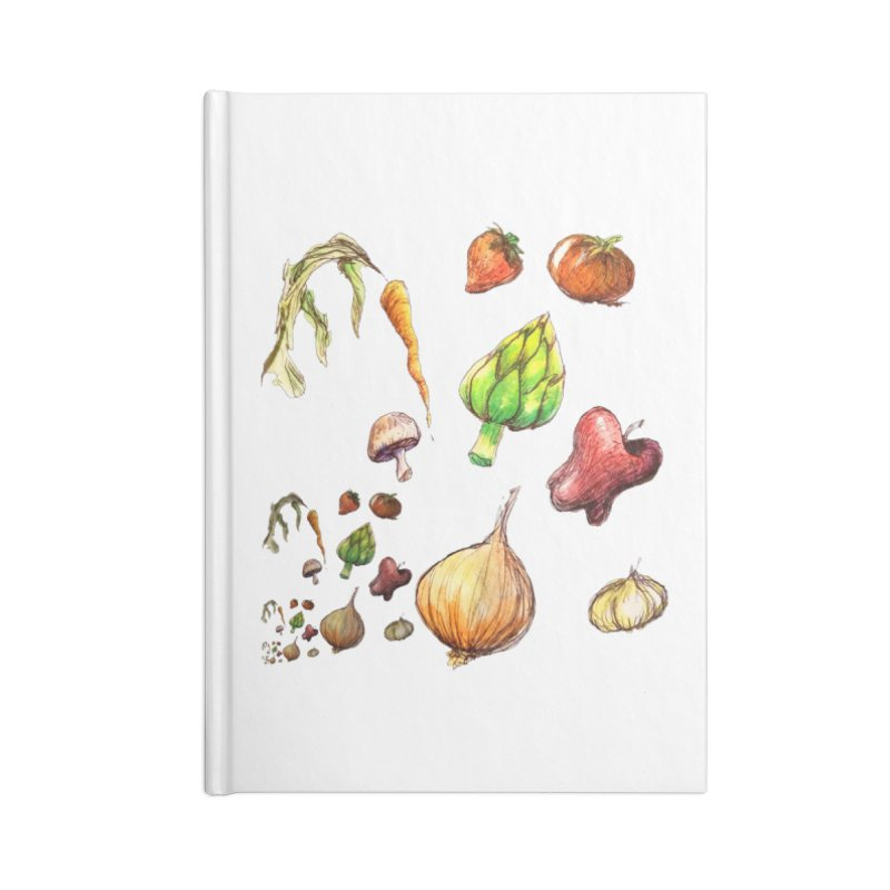 Romanesco Accessories Notebook by dasiavou's Artist Shop