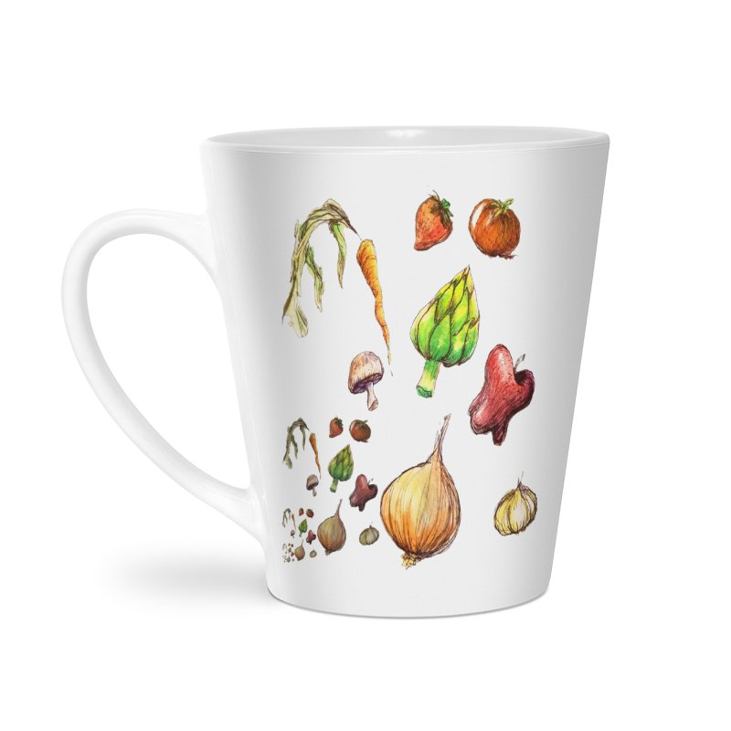 Romanesco Accessories Latte Mug by dasiavou's Artist Shop