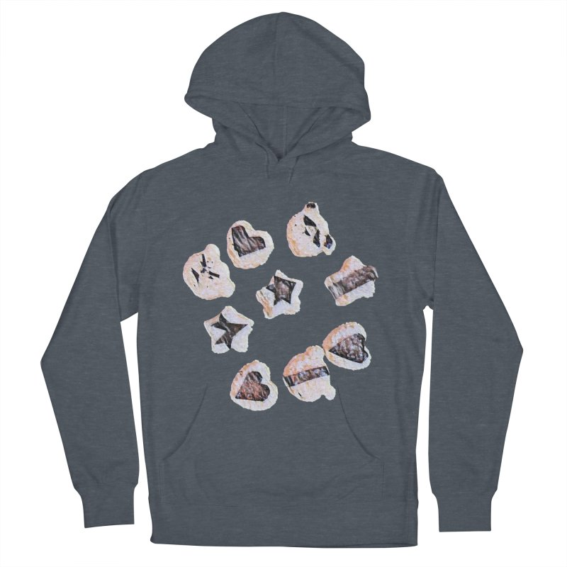 Onigiri Men's French Terry Pullover Hoody by dasiavou's Artist Shop