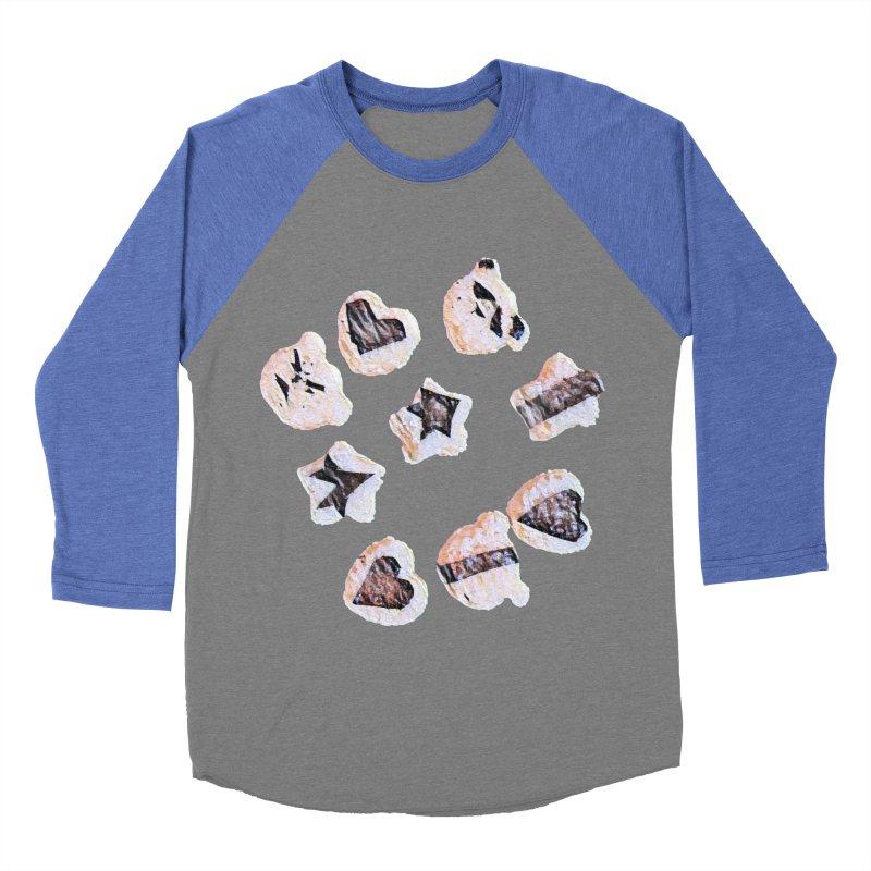 Onigiri Women's Baseball Triblend Longsleeve T-Shirt by dasiavou's Artist Shop