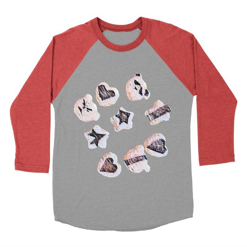 Onigiri Men's Baseball Triblend Longsleeve T-Shirt by dasiavou's Artist Shop