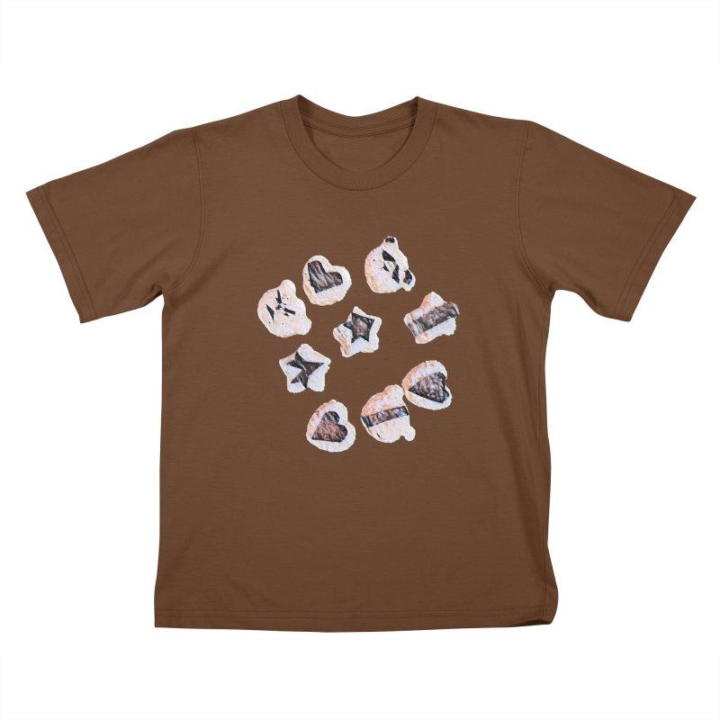 Onigiri Kids T-Shirt by dasiavou's Artist Shop