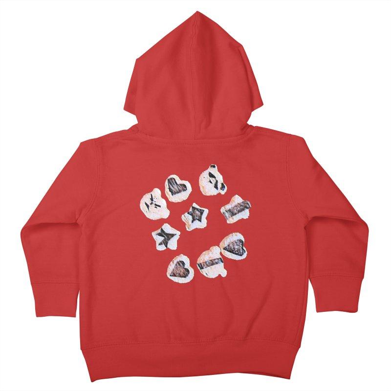 Onigiri Kids Toddler Zip-Up Hoody by dasiavou's Artist Shop