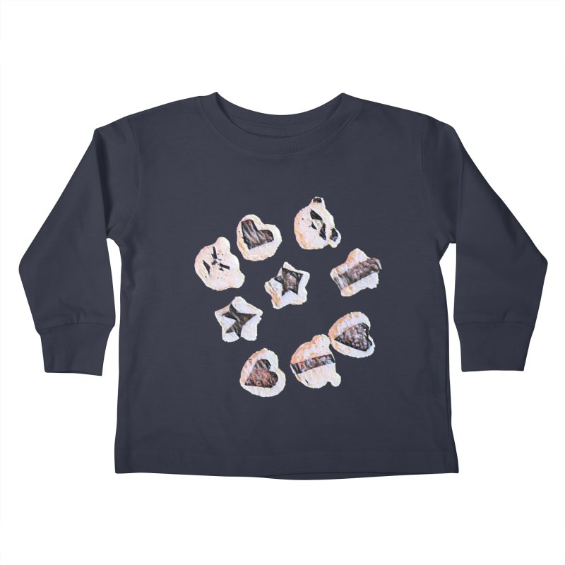 Onigiri Kids Toddler Longsleeve T-Shirt by dasiavou's Artist Shop