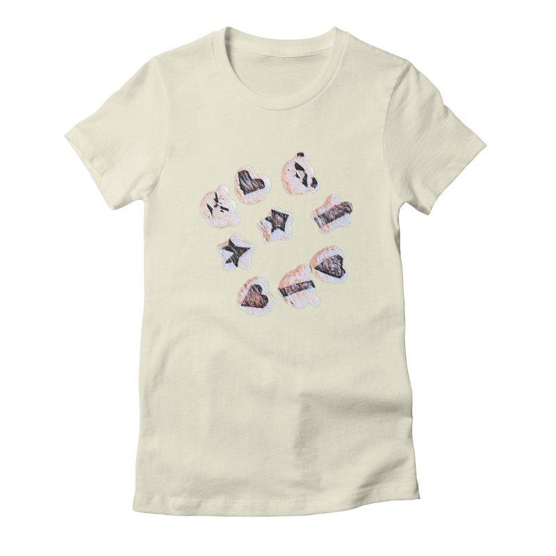 Onigiri Women's Fitted T-Shirt by dasiavou's Artist Shop