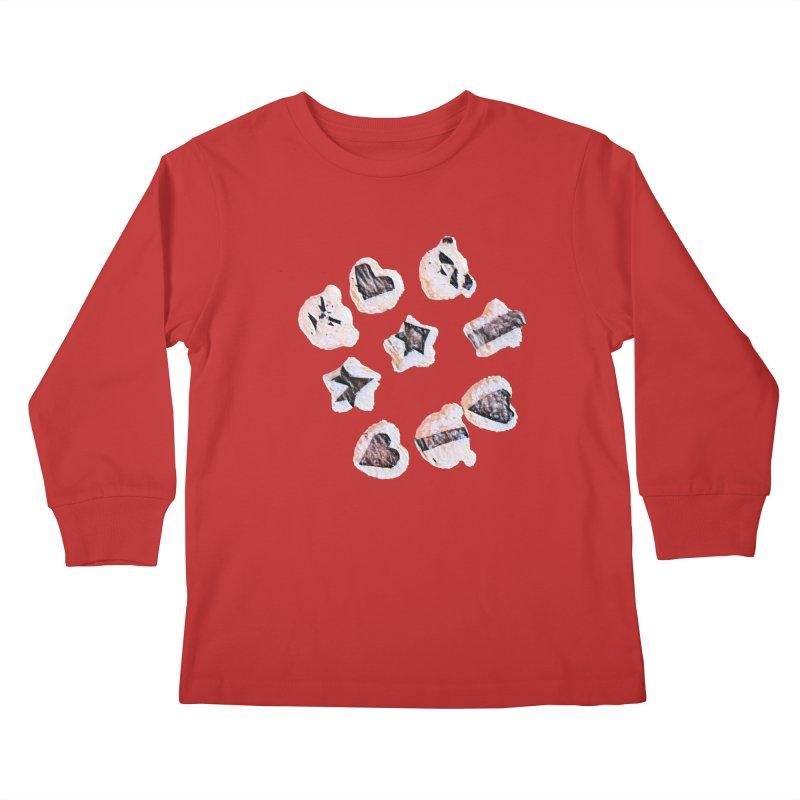 Onigiri Kids Longsleeve T-Shirt by dasiavou's Artist Shop