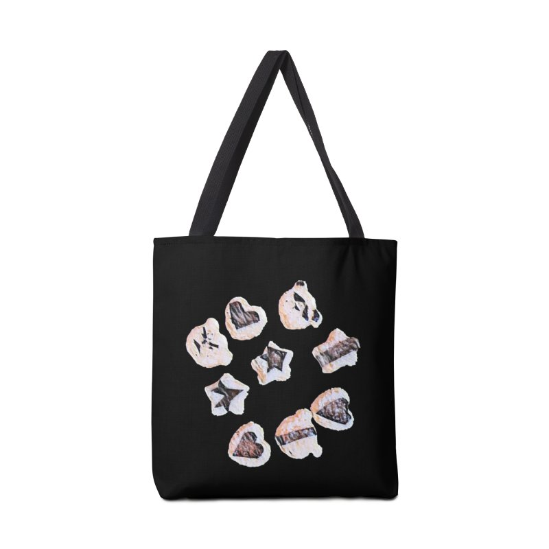 Onigiri Accessories Tote Bag Bag by dasiavou's Artist Shop
