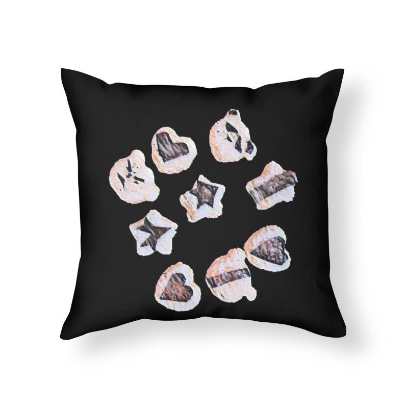 Onigiri Home Throw Pillow by dasiavou's Artist Shop