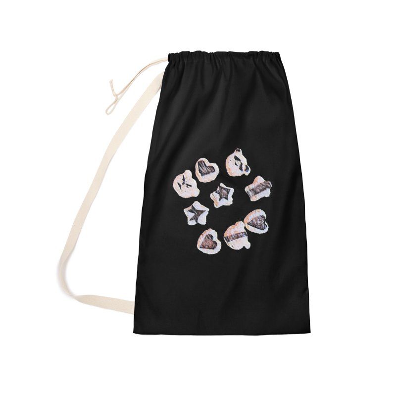 Onigiri Accessories Laundry Bag Bag by dasiavou's Artist Shop