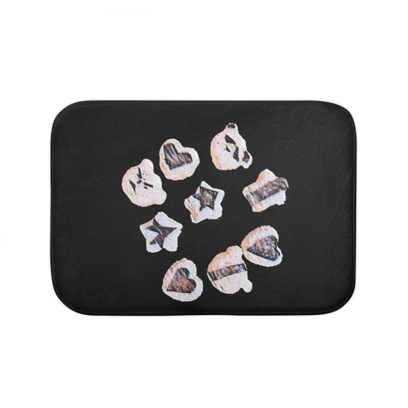 Onigiri Home Bath Mat by dasiavou's Artist Shop