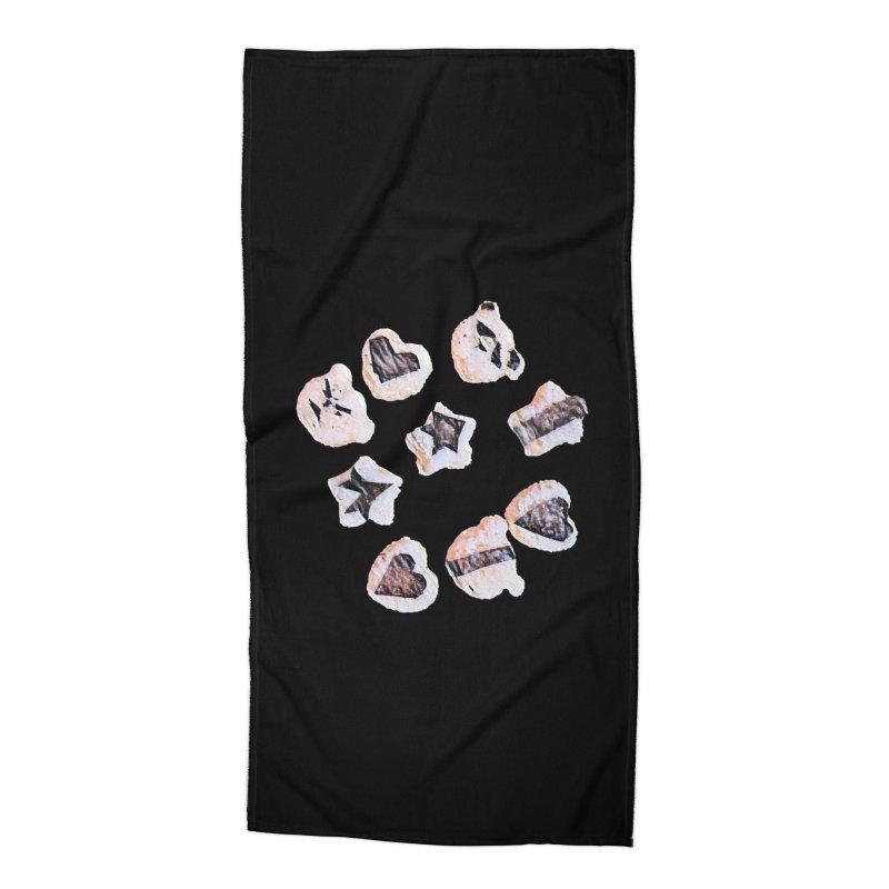 Onigiri Accessories Beach Towel by dasiavou's Artist Shop