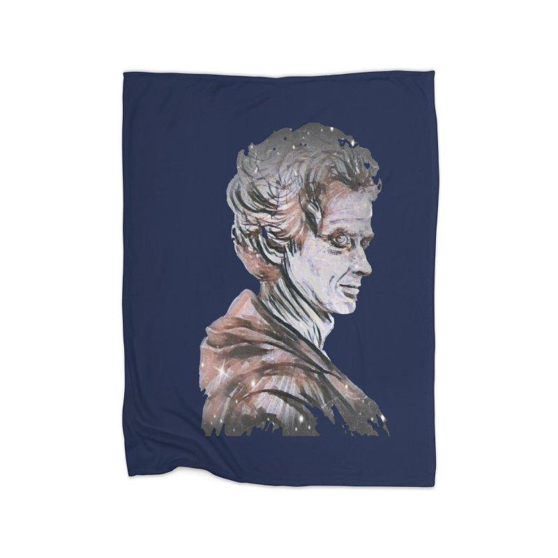 Twelve Home Fleece Blanket Blanket by dasiavou's Artist Shop