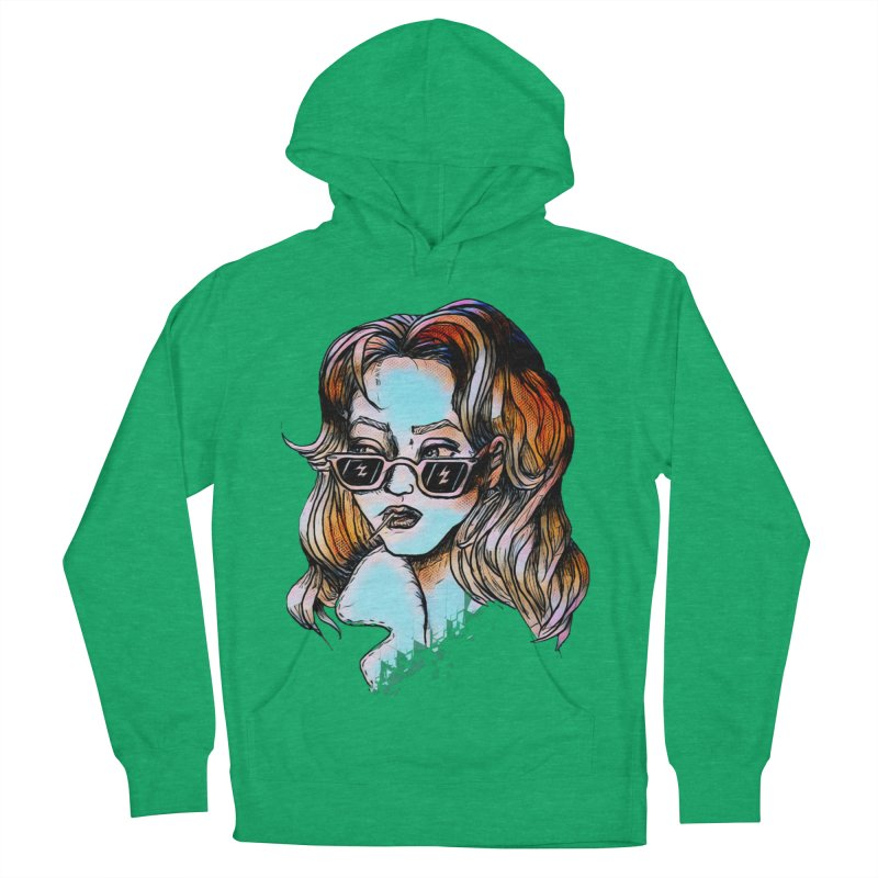 Flashback Women's French Terry Pullover Hoody by dasiavou's Artist Shop