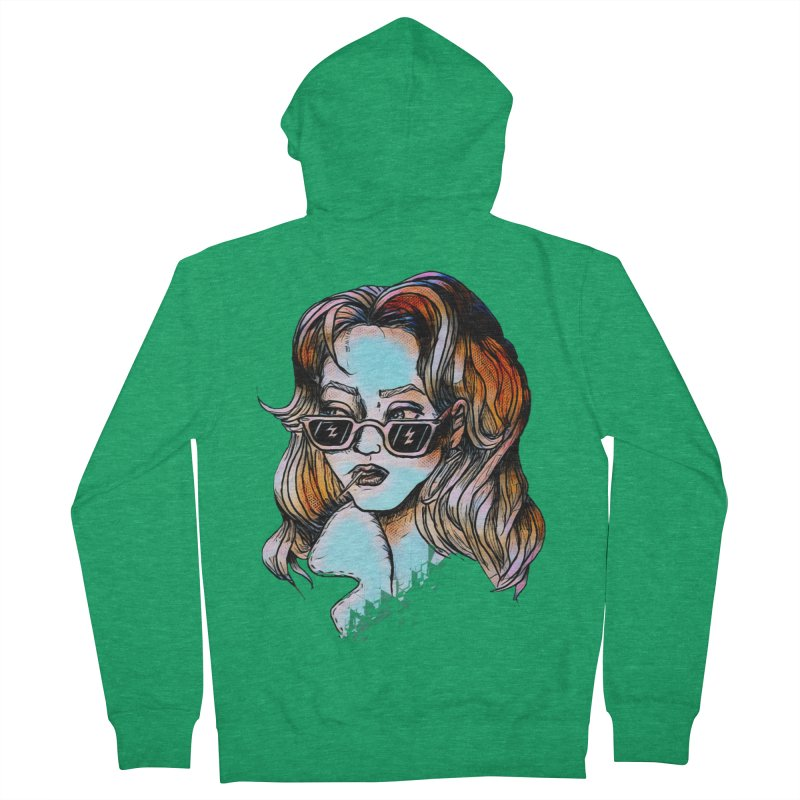 Flashback Women's Zip-Up Hoody by dasiavou's Artist Shop