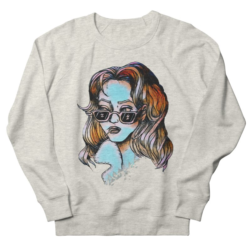 Flashback Men's French Terry Sweatshirt by dasiavou's Artist Shop