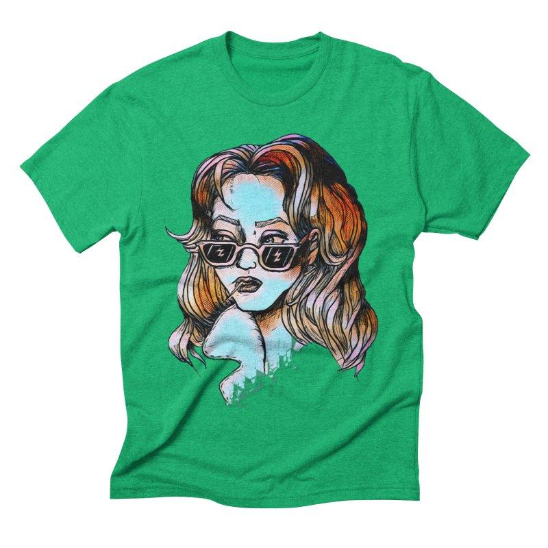 Flashback Men's Triblend T-Shirt by dasiavou's Artist Shop