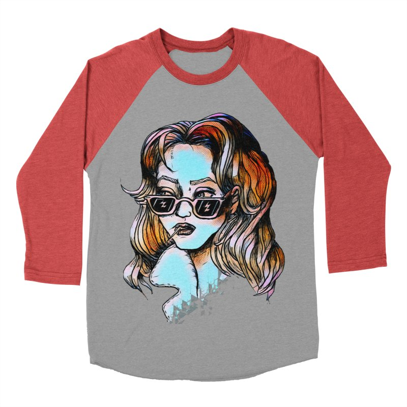Flashback Women's Baseball Triblend T-Shirt by dasiavou's Artist Shop