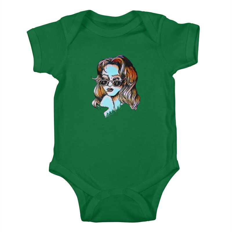 Flashback Kids Baby Bodysuit by dasiavou's Artist Shop