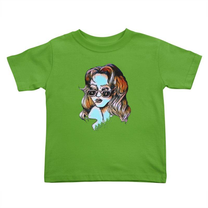 Flashback Kids Toddler T-Shirt by dasiavou's Artist Shop