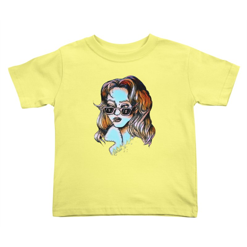 Flashback Kids Toddler T-Shirt by dasiavou's Artist Shop