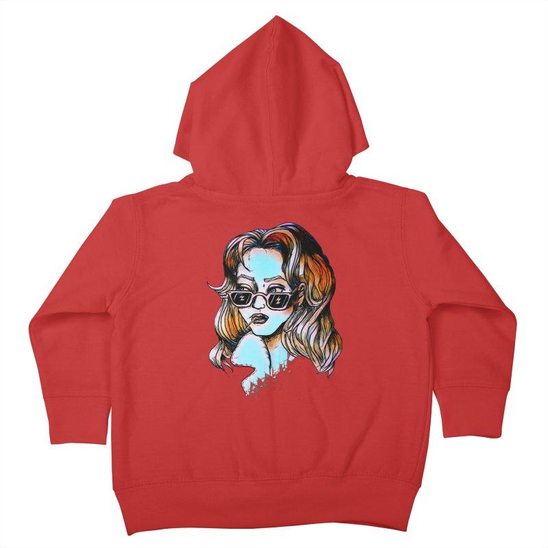 Flashback Kids Toddler Zip-Up Hoody by dasiavou's Artist Shop