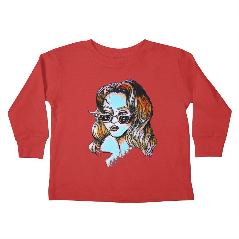 Flashback Kids Toddler Longsleeve T-Shirt by dasiavou's Artist Shop