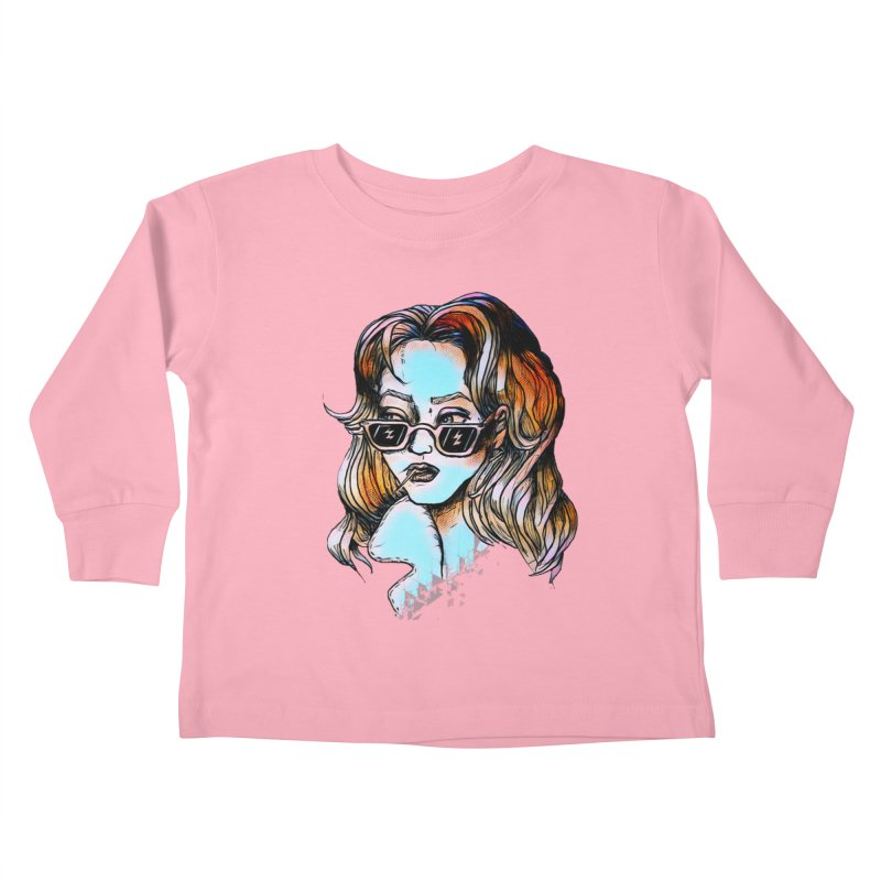 Flashback Kids Toddler Longsleeve T-Shirt by dasiavou's Artist Shop