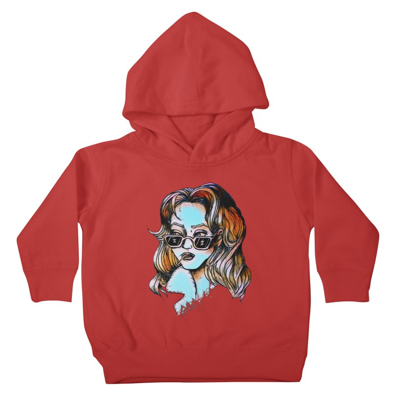 Flashback Kids Toddler Pullover Hoody by dasiavou's Artist Shop