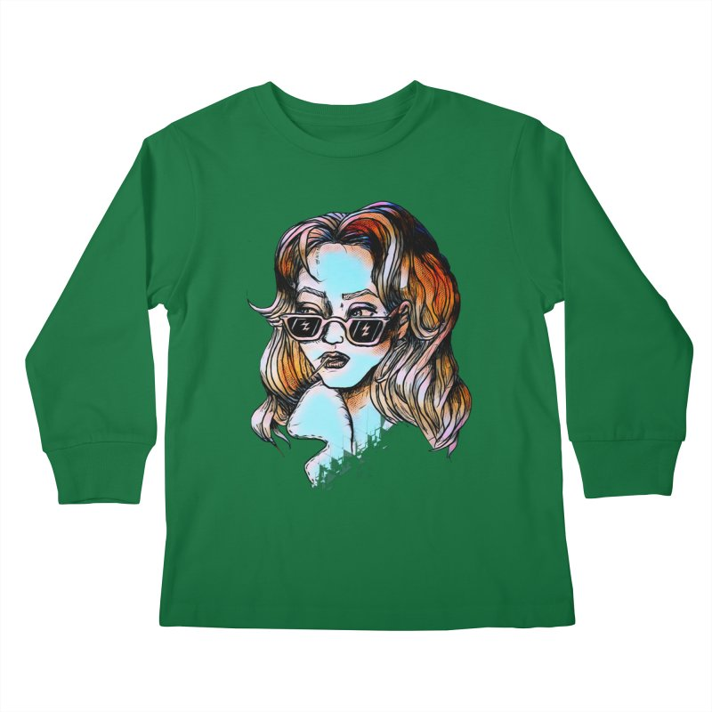 Flashback Kids Longsleeve T-Shirt by dasiavou's Artist Shop