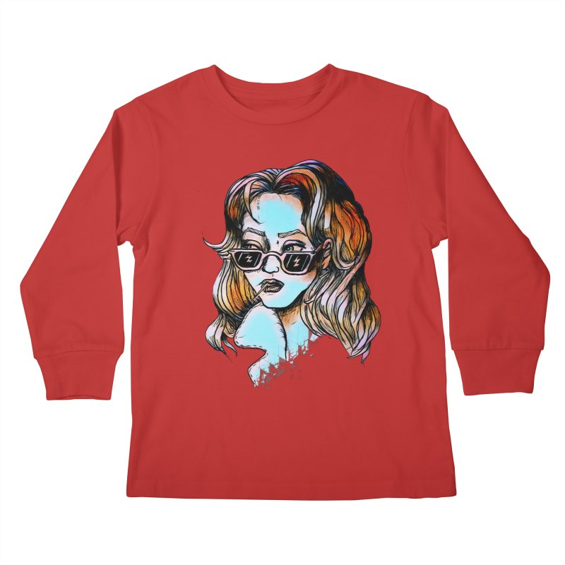 Flashback Kids Longsleeve T-Shirt by dasiavou's Artist Shop