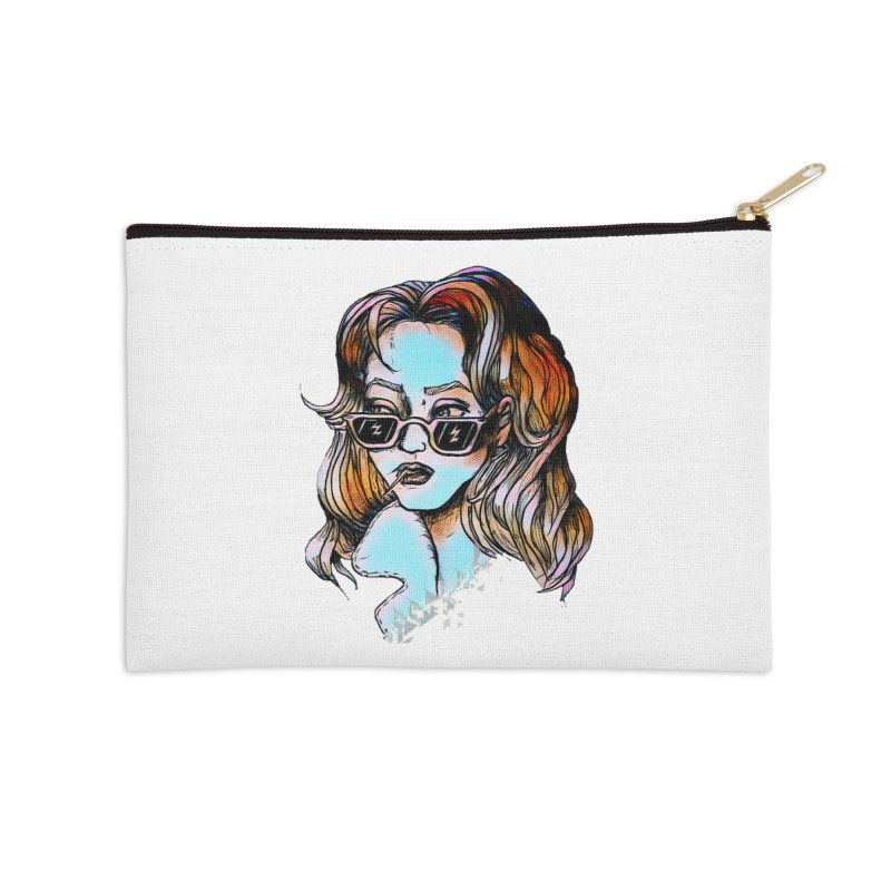 Flashback Accessories Zip Pouch by dasiavou's Artist Shop